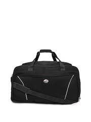 American Tourister Unisex Black Trolley Duffle Bag
