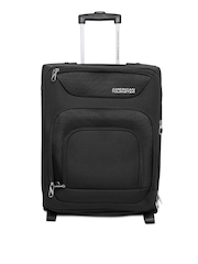 American Tourister Unisex Black Trolley Suitcase