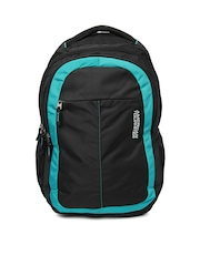 American Tourister Unisex Black Zing 02 Backpack