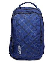 American Tourister Unisex Blue Code Backpack