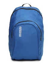 American Tourister Unisex Blue Jiffy Backpack