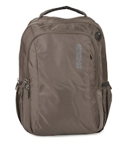 American Tourister Unisex Brown Citipro Laptop Backpack