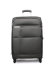 AMERICAN TOURISTER Unisex Brown Large Trolley Suitcase