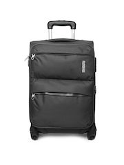 American Tourister Unisex Dark Grey Trolley Suitcase