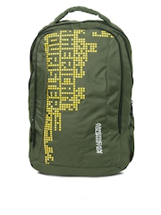 American Tourister Unisex Olive Green Urbane 012 Backpack