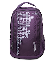 American Tourister Unisex Purple Urbane Backpack