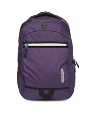 American Tourister Unisex Purple Zing 11 Backpack