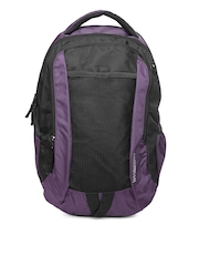 American Tourister Unisex Purple Zing Backpack