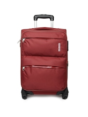 American Tourister Unisex Red Trolley Suitcase