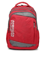American Tourister Unisex Red Urbane 06 Backpack