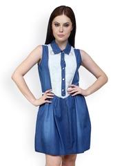 Anasazi Blue Shirt Dress