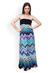 Multicoloured Printed Tube Dress Anasazi