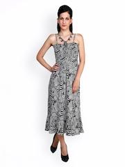 Anasazi Black Printed Maxi Dress