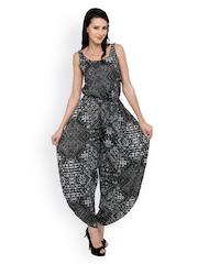 Anasazi Black Printed Jumpsuit