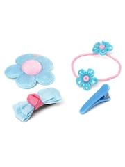 Angel Glitter Girls Blue Hair Accessory Set