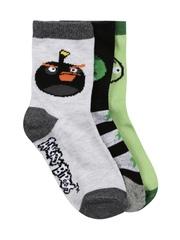 Angry Birds Boys Pack of 3 Socks