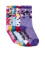 Angry Birds Girls Pack of 5 Socks