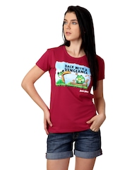 Angry Birds Women Red T-shirt