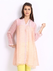 Anita Dongre Women White Printed Tunic