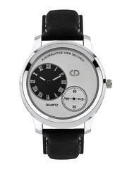 Anno Dominii Men Black & White Dial Watch AADDW1234