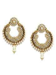 Anouk Gold Toned Drop Earrings