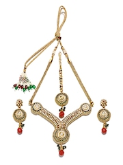 Anouk Gold Toned Jewellery Set