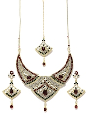 Anouk Gold-Toned Jewellery Set