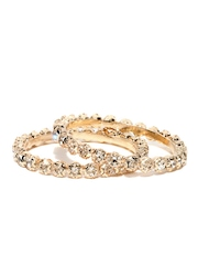 Anouk Set of 2 Rose Gold Toned Bangles