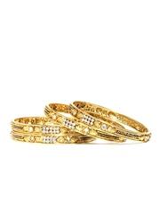 Anouk Set of 4 Gold Toned Bangles