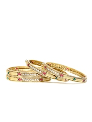 Anouk Set of 4 Gold Toned Bangles