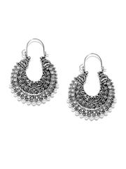 Anouk Silver-Toned Drop Earrings