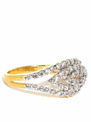 Anouk Silver-Toned Ring