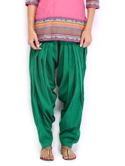 Anouk Women Green Patiala