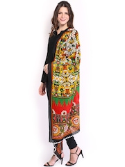 Anouk Women Multicoloured Printed Dupatta