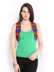 Anouk Women Multicoloured Waistcoat