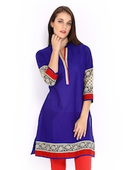 Anouk Women Blue Kurta