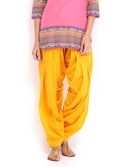Anouk Women Yellow Patiala