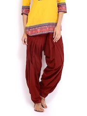 Anouk Women Red Patiala
