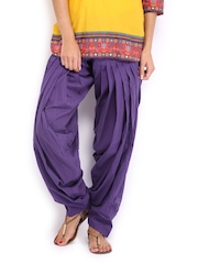 Anouk Women Purple Patiala