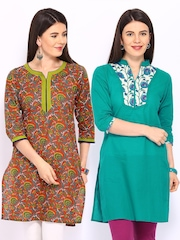 Anouk Women Selection of 2 Kurtas