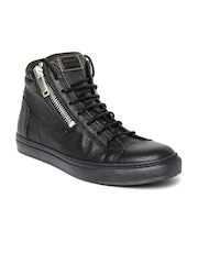 Antony Morato Black Collection Men Black Casual Shoes