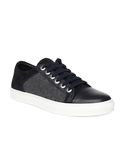 Antony Morato Men Navy & Grey Sneakers