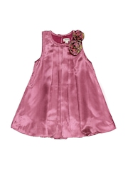 Aomi Girls Magenta Balloon Dress