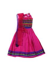 Aomi Girls Pink Clothing Set