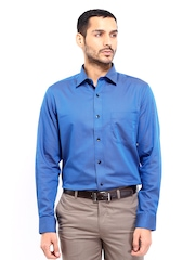 Arrow Men Blue Premium Formal Fit Formal Shirt