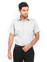 Men Grey Formal Fit Formal Shirt Arrow