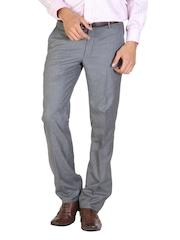 Arrow Men Grey Trousers