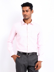 Arrow Men Pink Slim Fit Formal Shirt
