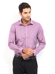 Arrow Men Pink Slim Fit Formal Shirt