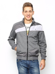 Arrow New York Men Grey Jacket